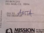 AMTA Donation 5% Book Sales