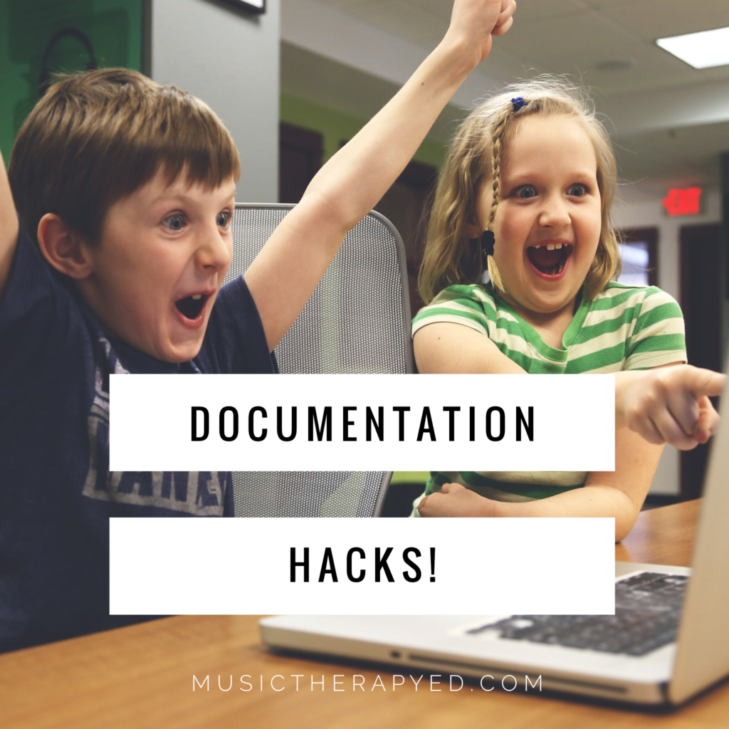 Photo of Learn this documentation hack for your music therapy practice!