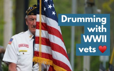 3 Drumming Tips For WWII Vet Clients