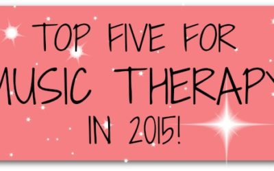 Top FIVE for 2015!
