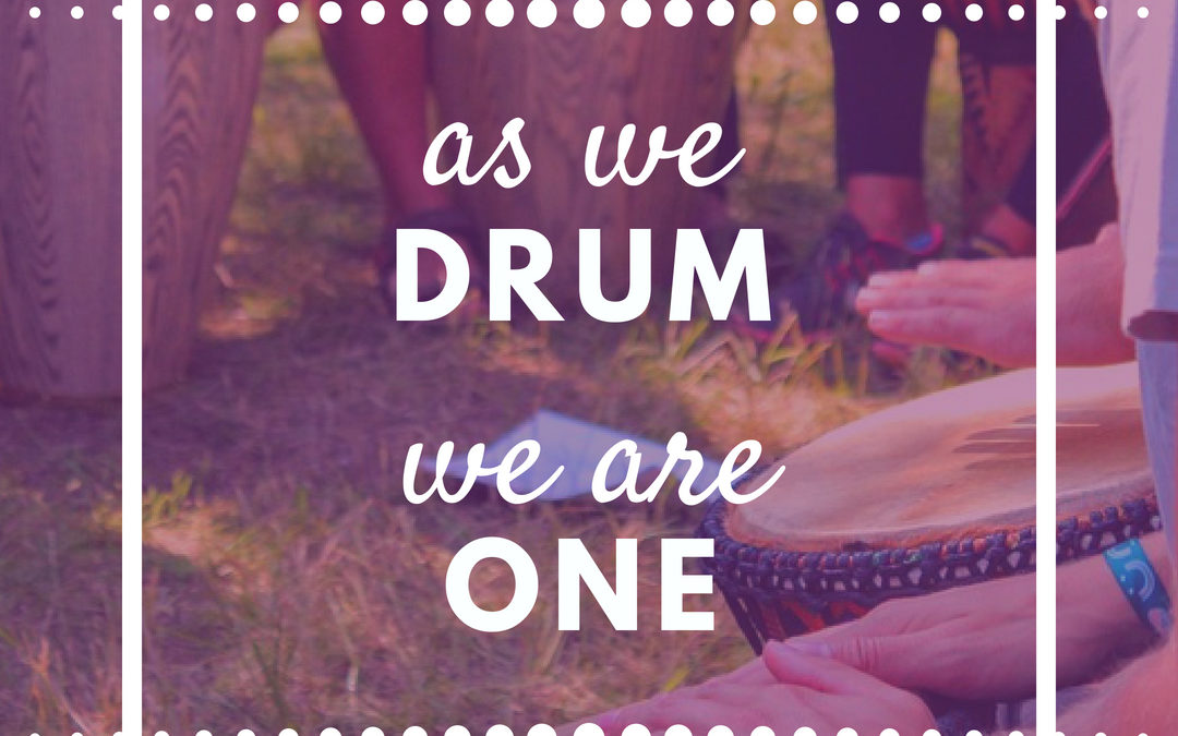 Become People of the Drum Through Chant